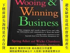 二手書博民逛書店Wooing罕見& Winning Business: The