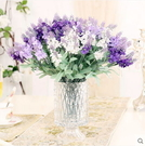 F0689 仿真花裝飾花假花幹花絹花 歐式田園普羅旺斯薰衣草10頭 4色(1支)