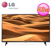【LG 樂金】43型4K HDR智慧物聯網電視(送基本安裝)