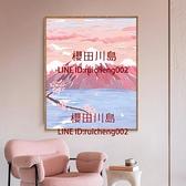 數字油畫diy風景填充涂色畫手工填色手繪油彩畫減壓背景墻裝飾畫【櫻田川島】