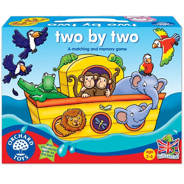 【英國 Orchard Toys】兒童桌遊-認知遊戲 諾亞方舟 OT-053