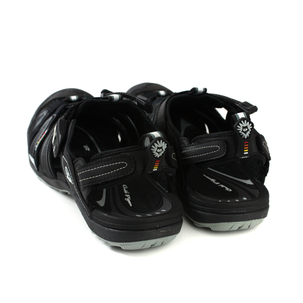 G.P 阿亮代言 涼鞋 護趾 雨天 黑色 男鞋 G9224M-10 no001