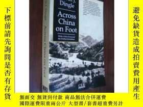 二手書博民逛書店《Across罕見China on Foot》 埃德溫·丁格爾