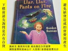 二手書博民逛書店Liar,罕見liar, pants on fire(英文)Y2