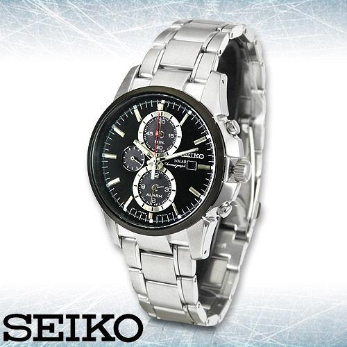 SEIKO 精工手錶專賣店 SSC087P1 男錶 太陽能 不鏽鋼錶帶 強化玻璃鏡面 防水100米