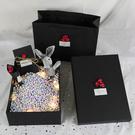 禮品盒口紅禮物盒子精美韓版簡約生日禮盒空盒大號包裝盒女  快速出貨