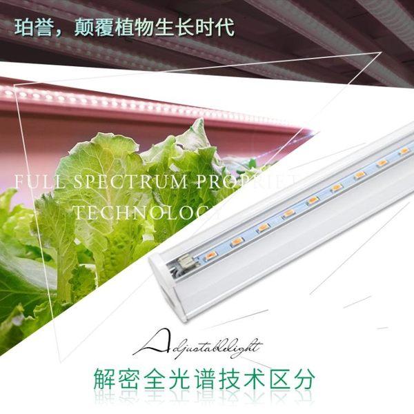 珀譽科技全光譜led植物生長 花卉蔬菜育苗組培多肉上色防徒補光燈 格蘭小舖