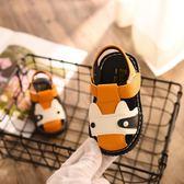 韓版男童涼鞋夏軟底防滑寶寶透氣韓版舒適型 JA1228 『伊人雅舍』