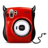 拍立得Fujifilm/富士立拍立得相機mini25白色/小惡魔一次成像自拍照限時一天下殺8折