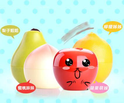 水蜜桃 蘋果 檸檬 水果護手霜  水潤保濕護手霜30g 【省錢博士】