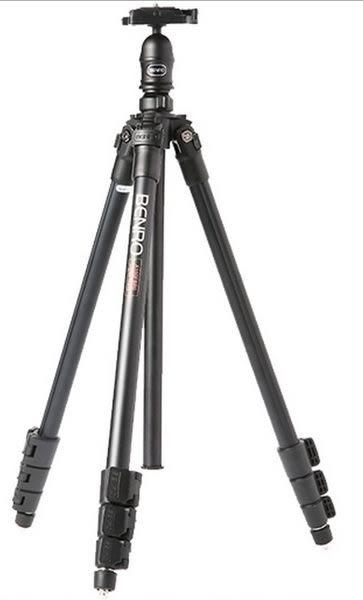 初學攝影好掌握 BENRO 百諾 A150FBR0 A150EX 扳扣式腳架 鎂鋁合金三腳架-公司貨,有發票。