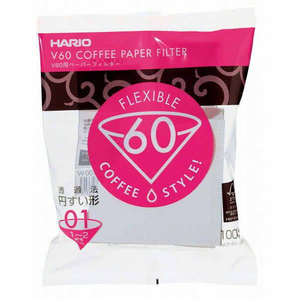 HARIO日本製V60咖啡濾紙100張