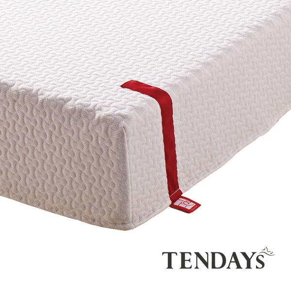 床墊-TENDAYs 3尺單人床22cm厚-柔織紓壓記憶床墊