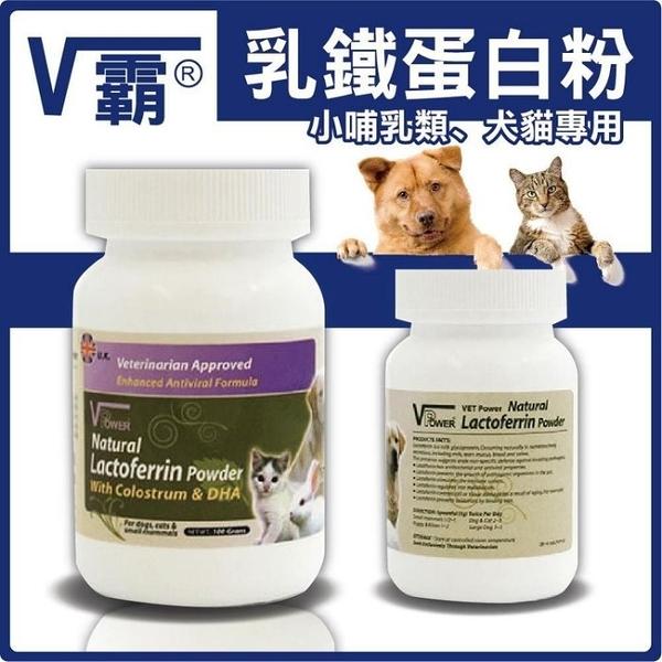『寵喵樂旗艦店』英國VPower《V霸乳鐵蛋白粉》可增加免疫力 100g