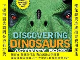 二手書博民逛書店Discovering罕見Dinosaurs Activity BookY410016 Cider Mill