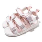 New Balance 涼拖鞋 NB 750 粉紅 白 女鞋 涼鞋 魔鬼氈 【ACS】 SDL750SCD