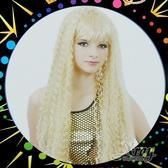 節慶王【W030047】美人魚玉米鬚長髮(金),萬聖節服裝/表演道具/造型假髮/角色扮演cosplay