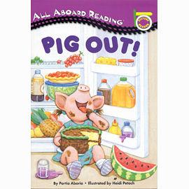 【汪培珽書單】〈All Aboard Reading系列:Picture Reader 〉PIG OUT