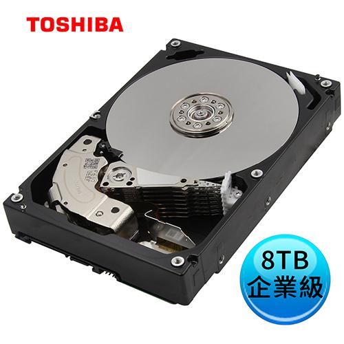 ~超夯熱賣~TOSHIBA 東芝 8TB 3.5吋 企業級 內接硬碟 MG06ACA800E