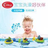 寶寶洗澡玩具 發條拉線會游泳的小黃鴨子 LR2028【歐爸生活館】
