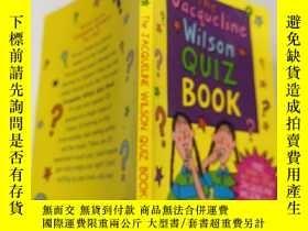 二手書博民逛書店the罕見Jacqueline Wilson Quiz Book 傑 奎琳威Y200392