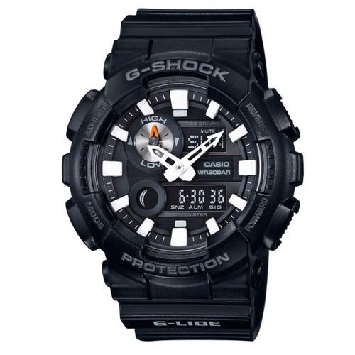 CASIO G-SHOCK耀眼奪目時尚運動腕錶/GAX-100B-1ADR