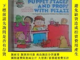二手書博民逛書店英文原版——PUPPET罕見STAGES AND PROPS W