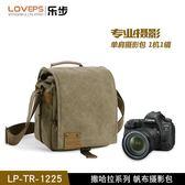 摄影包 LOVEPS單反相機包攝影包單肩斜挎便攜佳能索尼防水微單包相機包 星河光年DF