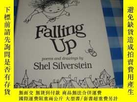 二手書博民逛書店Falling罕見Up: Poems and Drawing b