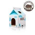 【胖貓嚴選】台灣製 抓板式貓屋 牛奶盒款 免運費