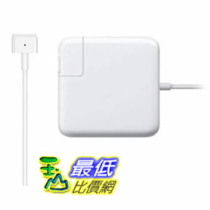 [8美國代購] koea Mac Book充電器 Ac 45w 2 (T-Tip) 連接器 適合Mac Book Air 11 13 白色