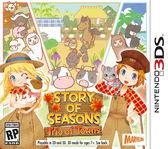 3DS 牧場物語 三座鄉村的重要朋友們(美版代購)