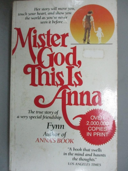 【書寶二手書T2/原文小說_NER】Mister God, This Is Anna_Fynn/ Papas (ILT)