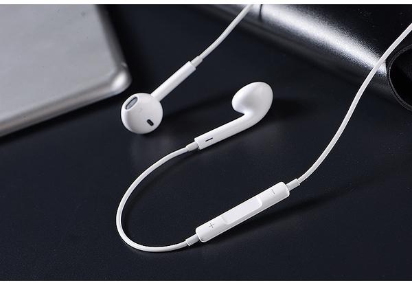 WH 安卓蘋果通用水晶盒裝3.5mm IPhone耳機Apple耳機vivo三星 HTC 華為 LG線控麥克風 音源孔5 6 6s 6plus