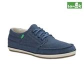 SANUK  素面舒適綁帶休閒鞋-男款SMF11194 BLU(藍色)