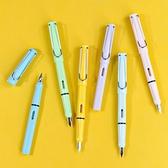 鋼筆 凡迪中小學生專用好看的馬克龍色正姿鋼筆三年級0.38mm特細筆尖可替換墨囊 贈墨囊 夢藝家