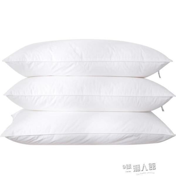 酒店枕頭枕芯成人護頸椎枕頭單人家用抗菌學生一對拍2 9號潮人館