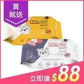 韓國 K-MOM 自然純淨嬰幼兒濕紙巾(基本款)100張【小三美日】圖案隨機出貨/MOTHER-K