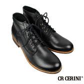 【CR CERINI】六孔木跟半筒靴(69121-BL)