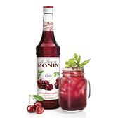 Monin糖漿-櫻桃700ml(專業調酒比賽 及 世界咖啡師大賽 指定專用產品)