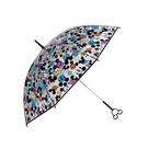 日本 迪士尼 Disney 造型手把長傘/雨傘/透明傘 60cm (繽紛米奇 Mickey)