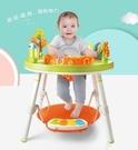 新款獅子王3合1歡樂跳跳椅~彈跳椅+遊戲桌+學習桌三合一~可360度旋轉~幼之圓