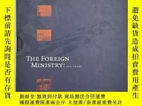 二手書博民逛書店the罕見foreign ministry : 200years