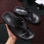 鞋男夏防滑浴室平底外穿時尚簡約學生夾腳家用涼拖鞋潮 可可鞋櫃
