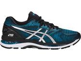 ASICS 亞瑟士 男 慢跑鞋  GEL-NIMBUS 20 (藍黑) 緩衝型鞋款  T800N-4101 【胖媛的店】