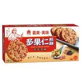 義美美味多果仁花生芝麻煎餅160g【愛買】
