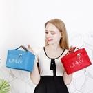 化妝收納包 便攜化妝包大容量多功能小號韓版簡約少女心防水隨身收納品袋網紅 果果生活館