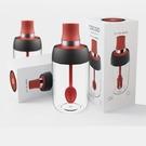調料瓶OLD112 廚房 防潮調料罐勺蓋一體調料玻璃密封調味瓶刷油壺調料盒