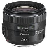 ◎相機專家◎ Canon EF 35mm F2 IS USM 台佳公司貨  全新彩盒裝