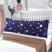 枕頭—雙人長枕套枕頭情侶婚慶加長1.2米/1.5/1.8米純棉長款大號枕芯套 korea時尚記
